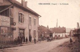 88 . N° 106589 . Gerardmer .cafe Epicerie .pompe A Essence .voiture .la Croisette .pas Courante . - Gerardmer