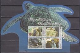 2013Tonga1872-75/B62Turtles 26,80 € - Schildpadden