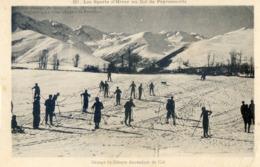 130A . Les Sports D'Hiver Au Col De Peyresourde - Luchon
