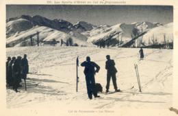 133A . Les Sports D'Hiver Au Col De Peyresourde - Luchon