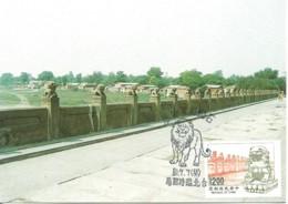 Carte Maximum - Taiwan - Formose - Chinese Stone Lion - 1945-... Repubblica Di Cina