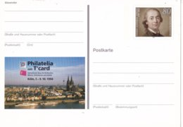 "Duitsland - 8 September 1994 - Sonderpostkarte - PHILATELIA Mit T""CARD, Köln - M Pso 35 - [7] West-Duitsland"