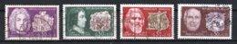 France 1968 : Timbres Yvert & Tellier N° 1550 - 1551 - 1552 - 1553 - 1556 - 1557 - 1558 - 1559 - 1560 Et 1561 Avec Oblit - France
