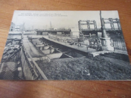 Termonde, Dendermonde, Oude Verwoeste Brug Over De Schelde - Dendermonde
