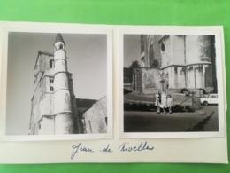 JEAN DE NIVELLES ÉGLISE COLLÉGIALE SAINTE -  GERTRUDE BRABANT WALLON BELGIQUE LOT 5 PHOTOS ORIGINALES FAMILLE DE JAMBES - Nivelles