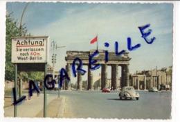 Berlin (Allemagne / Deutchland), Porte De Brandenbourg / Brandenburger Tor C.1955 - Porta Di Brandeburgo