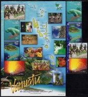 Vanuatu - 2010 - World EXPO 2010 In Shanghai - Chinese Art - Mint Stamp Set + Souvenir Sheet - Vanuatu (1980-...)