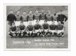 """Football  ( M 5317 )  Standard De Liège  """"Champion Belgique 1958""""  Top - Football"""