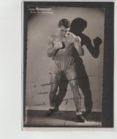 .BOXING.BOKSEN. PHOTO. Lansival   BOXEUR ADRIEN MOURGUIART  MANAG. P.BODROS-YRIARTE  SIGNEE. AUTOGRAPHE - Boxing