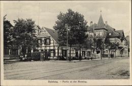 Cp Duisburg Im Ruhrgebiet, Partie An Der Monning, Fachwerkhaus - Autres
