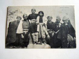 Albania / Shkodra  COSTUMI ALBANESI     - WWI POSTA MILITARE TRUPPE OCCUPAZIONE -   1918 - Albanie