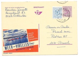 2600 N - Stempel Lichtervelde - Enteros Postales