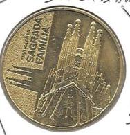 Jeton Touristique Espagne Sagrada   2015 - 2015