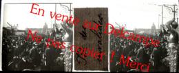 Paris Fête Des Invalides / Non Datée / Photo Stéréo Sur Plaque De Verre (positif) 4,5X10,5cm - Glass Slides