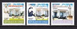 2008 Congo Pierre De Brazza Memorial Complete Set Of 3 MNH - Congo - Brazzaville
