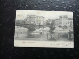 LIÈGE - La Passerelle -  Au Verso Exposition Universelle Internationale 1905 - Liège