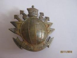 Badge Armée éthiopienne, époque De Haile Selassie (transmissions) Grand 38 Mm - Medicina
