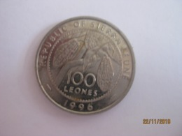 Sierra Leone: 100 Leones 1996 - Sierra Leona