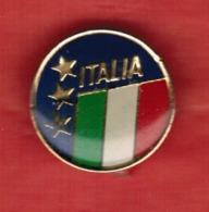 """Pins """"ITALIA"""" Copertura Trasparente In Rilievo - Diametro Mm.15----(lotto 6128E) - Andere"""