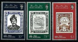 Brunei Nº 317/18 En Nuevo - Brunei (1984-...)