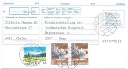 "Barabschnitt  ""Tillotts Pharma, Ziefen"" - Jordanische Botschaft Bern         1999 - Switzerland"