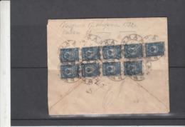 Russie   L Enveloppe  Censure   Vers  La Belgique      Voir  2 Scan - 1917-1923 Repubblica & Repubblica Soviética