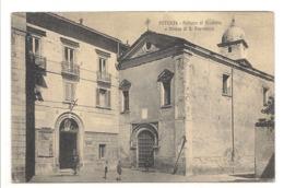 POTENZA - PALAZZO DI GIUSTIZIA E CHIESA DI S. FRANCESCO - Potenza