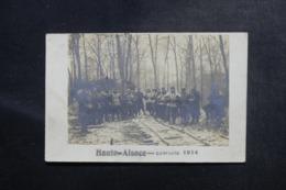 MILITARIA - Carte Postale - Carte Photo De Haute Alsace - Campagne 1914 - Soldats En Hiver - L 48074 - Guerre 1914-18