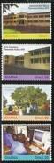 2009 Ghana Tweneboa High School Anniversary Volleyball Complete Set Of 4 MNH - Ghana (1957-...)