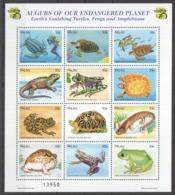 PK021 1999 PALAU FAUNA REPTILES AUGURS OF OUR ENDANGERED PLANET 1SH MNH - Reptielen & Amfibieën