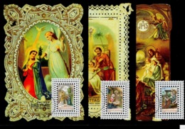 Liechtenstein 2004: Weihnachten Noel Xmas Natale Kerstmais Zu 1304-1306 Mi 1361-1363 Yv 1302-1304 MK 233 (Zu CHF 10.00) - Weihnachten