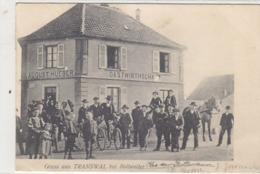 Gruss Aus Transwal Bei Bollweiler - D-Frankatur - 1907         (A-135-190424) - Elsass