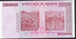 ZIMBABWE P84 5.000.000.000 DOLLARS 2008 #AA     UNC. - Zimbabwe