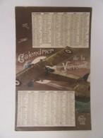 Guerre 14-18 - CPA Patriotique - Calendrier 1917 De La Victoire, Aviateur - Carte Illustrée Signée - Editions IDEA N°406 - Patriotiques