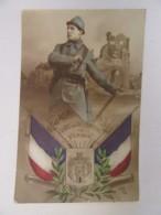 Guerre 14-18 - CPA Patriotique - Gloire Aux Défenseurs De Verdun - Carte Circulée Le 26 Mai 1916 - Patriotiques