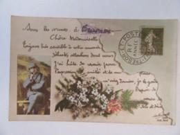 Guerre 14-18 - CPA Patriotique - Impression D'une Carte Postale - Carte Circulée Le 15 Mai 1917 - Patriotiques