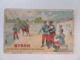 Guerre 14-18 - CPA Patriotique Illustrée - Chasseurs à Cheval - Par BYRRH - Carte Couleur Circulée En 1915 - Patriotiques