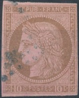 FRANCE - 1872/77, Mi 16, 10c Ceres - Ceres