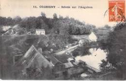 58 - CORBIGNY : Scierie Sur L'Anguison - CPA Village ( 1.500 Habitants ) - Nièvre ( Nivernais - Morvan ) Industrie Usine - Corbigny