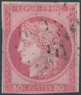 FRANCE - 1870/71, Mi 45, 80c Ceres - Ceres