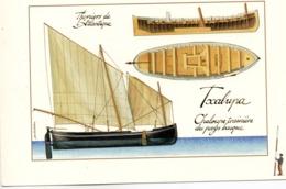 PAYS BASQUE - TXALUPA - Trainière Du Pays Basque - Vierge - Tbe - Pesca