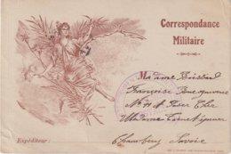"""FRANCE : CORRESPONDANCE MILITAIRE . OBL . """" 67 E REGIMENT D'INFANTERIE """" . 6/11/1915 . - WW I"""