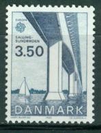 Bm Denmark 1983 MiNr 782 MNH | Europa Cept, Sallingsund Bridge - Denmark