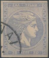 GREECE - 1876/86, Mi 31, 30 Lept, Large Hermes - Gebraucht