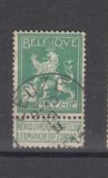 COB 110 Oblitération Centrale LEUZE - 1912 Pellens