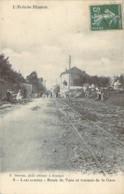 07 ARDECHE Les Travaux Du Tramway Sur La Route Des Vans à La Gare De LABLACHERE - Frankreich