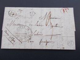 MARQUE POSTALE.VAR.DECIME RURAL.ENTRECASTEAUX.COTIGNAC.1836 - 1801-1848: Précurseurs XIX