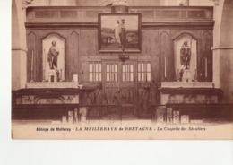 CPA LA MEILLERAYE DE BRETAGNE  - N° 44-18 -  ABBAYE DE MELLERAY  - LA CHAPELLE DES SECULIERS - PHOTO J THOUAULT - Andere Gemeenten
