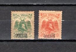 Albania   1922 .-  Y&T Nº    128/129 - Albania