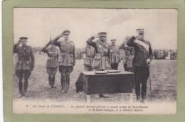 CAMP LEMBET  GENERAL SARRAIL ...  ET MAHON - Guerre 1914-18